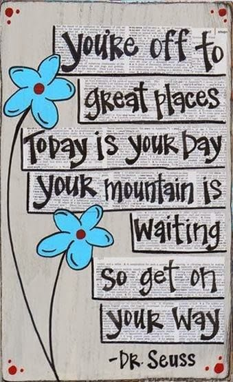 Dr Seuss Today Is Your Day Quote: Dr.Seuss VISUALIZATION MESSAGES