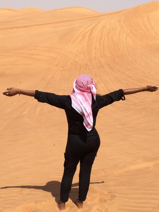 Juana Grant, Wtd, doost, Dubai
