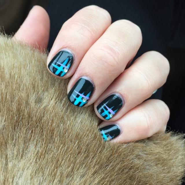 KISS nail art with Jill Firns